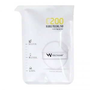 C200 Bubble Peeling Pad by Wish Formula