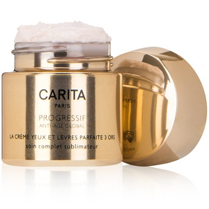 Perfect Cream Trio of Gold For Eyes and Lips by Carita