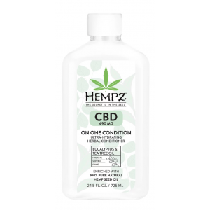 CBD 490mg On One Condition Ultra-Hydrating Herbal Conditioner by Hempz