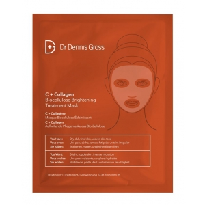 C+Collagen Biocellulose Brightening Treatment Mask by Dr. Dennis Gross Skincare
