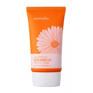 Calendula Non-Nano UV Protection SPF 30 PA+++, Unscented by Aromatica