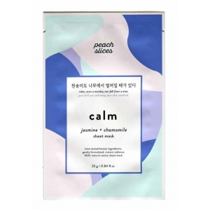 Calm Sheet Mask - Jasmine + Chamomile by Peach Slices