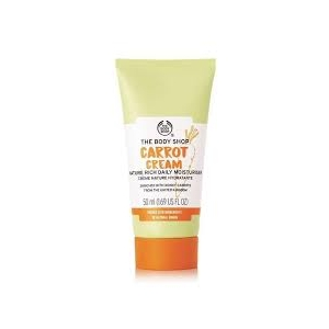 Carrot Cream Nature-Rich Daily Moisturizer by The Body Shop