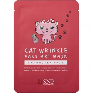Cat Wrinkle Face Art Mask Sheet by SNP