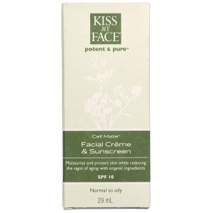 Cell Mate Facial Creme and Sunscreen SPF 15 Normal to Oily Skin by Kiss My Face