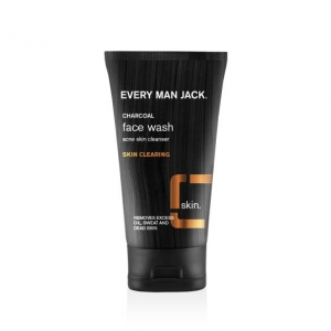 Charcoal Face Wash Skin Acne Skin Cleanser, Skin Clearing by Every Man Jack