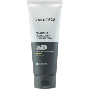 Charcoal Pore Deep Cleansing Foam by Leaders