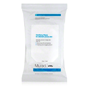 Clarifying Wipes for Blemish Prone Skin by Murad