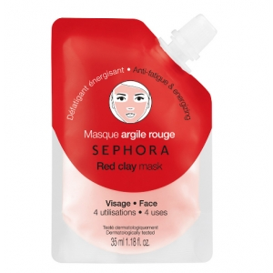 Clay Mask - Red - Energizes and Fights Fatigue by Sephora Collection