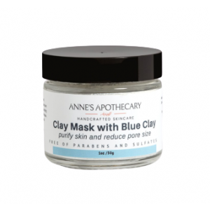 Clay Mask with Blue Clay by Anne's Apothecary