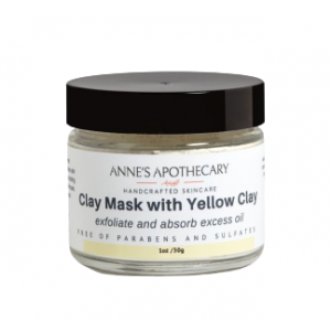 Clay Mask with Yellow Clay by Anne's Apothecary