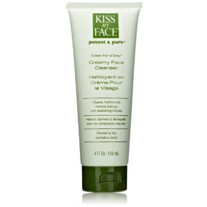 Clean for a Day Creamy Face Cleanser by Kiss My Face