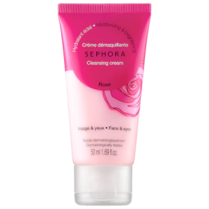 Cleansing & Exfoliating Cleansing Cream - Rose - Moisturizing & Brightening by Sephora Collection