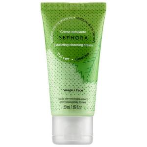 Cleansing & Exfoliating Cleansing Cream - Green Tea - Mattifying & Anti-Blemish (Exfoliating) by Sephora Collection