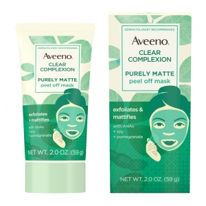 Clear Complexion Purely Matte Peel Off Mask by Aveeno