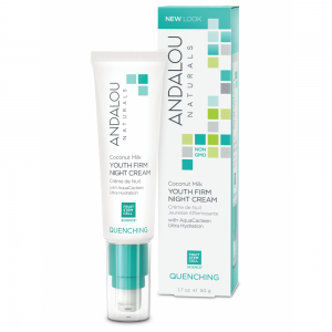 Coconut Milk Youth Firm Night Cream by Andalou Naturals