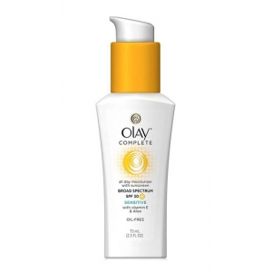 Complete All Day Moisturizer with Sunscreen Broad Spectrum SPF 30, Sensitive by Olay