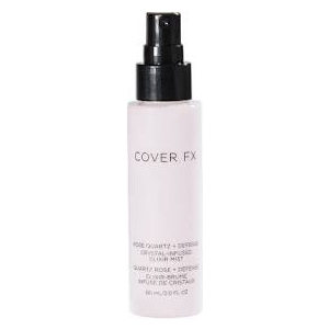 Crystal-Infused Elixir Mist Rose Quartz + Defense by Cover FX