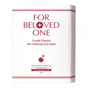 Crystal Radiant Bio-Cellulose Eye Mask by For Beloved One