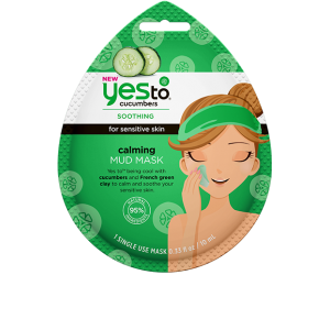 Cucumbers Soothing Calming Mud Mask by Yes To