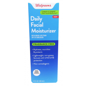 Daily Facial Moisturizer SPF 30 Fragrance Free by Walgreens