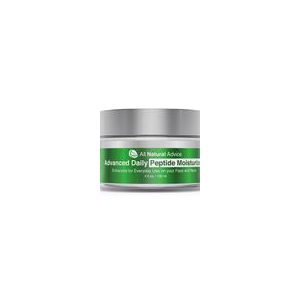 Daily Moisturizer with Peptide and Hyaluronic Acid by All Natural Advice