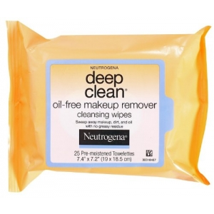 Deep Clean Oil-Free Makeup Remover Cleansing Wipes by Neutrogena