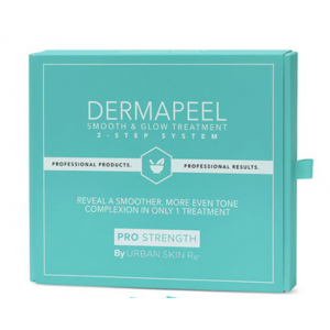 DermaPeel Smooth and Glow Treatment (Peel Treatment Pads) by Urban Skin Rx