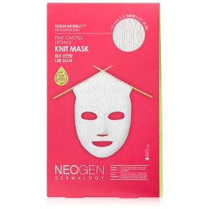 Dermalogy Pink Cactus LiftMax Knit Mask by Neogen