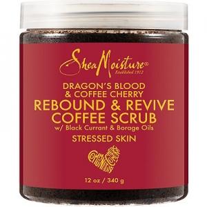 Dragon's Blood & Coffee Cherry Rebound & Revive Coffee Scrub by Shea Moisture