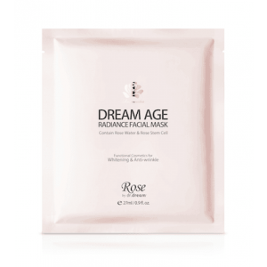 Dream Age Radiance Facial Mask by Rose by Dr. Dream