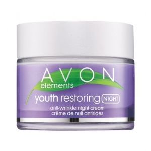 Elements Youth Restoring Anti-Wrinkle Night Cream by Avon