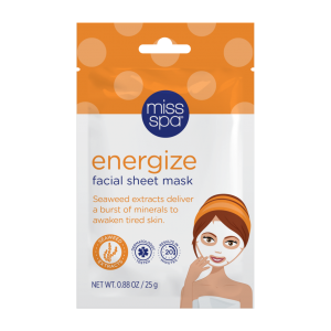 Energize Facial Sheet Mask by Miss Spa