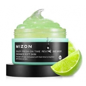 Enjoy Fresh-On Time Revital Lime Mask by Mizon