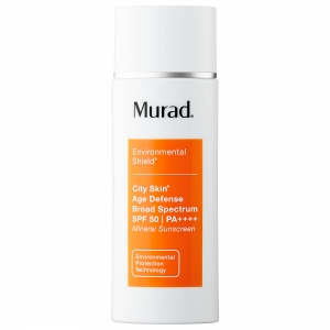 Environmental Shield City Skin Age Defense Broad Spectrum SPF 50 PA++++ Mineral Sunscreen by Murad