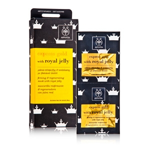 Express Gold Firming and Regenerating Mask with Royal Jelly by Apivita