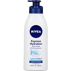 Express Hydration Daily Lotion with Sea Minerals and Lotus Flower  Scent for Normal to Dry Skin by Nivea