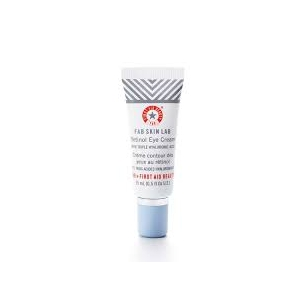 FAB Skin Lab Retinol Eye Cream with Triple Hyaluronic Acid by First Aid Beauty