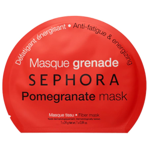 Face Mask - Pomegranate - Anti-Fatigue & Energizing by Sephora Collection