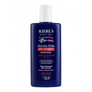 Facial Fuel UV Guard Fast-Absorbing Sunscreen for Men SPF 50+ by Kiehl's for Men