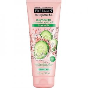 Feeling Beautiful Rejuvenating Cucumber + Pink Salt Clay Mask by Freeman Beauty