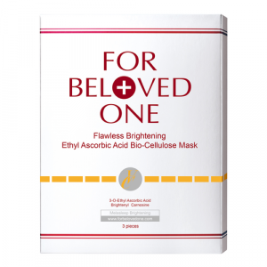 Flawless Brightening Ethyl Ascorbic Acid Bio-Cellulose Mask by For Beloved One