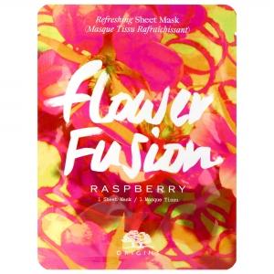 Flower Fusion Raspberry Refreshing Sheet Mask by Origins