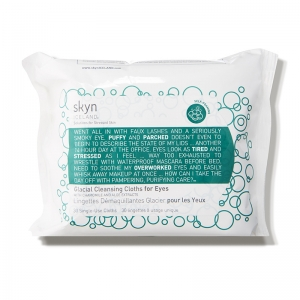 Glacial Cleansing Cloths for Eyes with Chamomile and Aloe Extracts by Skyn Iceland