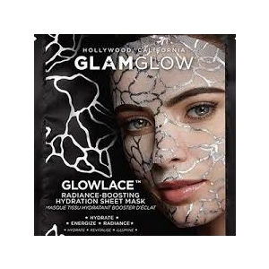 GlowLace Radiance-Boosting Hydration Sheet Mask by GlamGlow