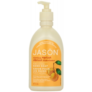 Glowing Apricot Pure Natural Hand Soap by Jason Natural