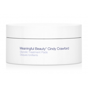Glycolic Treatment Pads by Meaningful Beauty Cindy Crawford