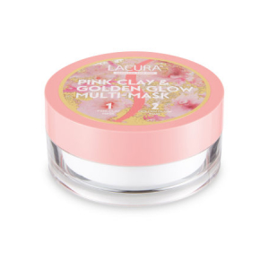Pink Clay & Golden Glow Multi-Mask ( (Purifying Pink Clay Mask) by Lacura