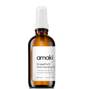 Grapefruit Deep Cleansing Oil & Makeup Remover by Amaki Botanical Skincare