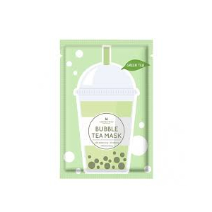 Green Tea Bubble Tea Oil-Balancing, Soothing, and Moisturizing Mask by Annie's Way